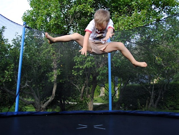 Tough bounces: trampoline use comes with high risk of ...